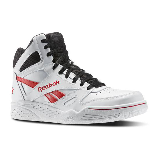 REEBOK MEN S CLASSICS REEBOK ROYAL BB4500 HI White   Black   Red Rush 56f925c51