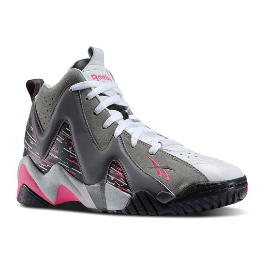 8ea602833c3d81 REEBOK MEN S CLASSICS KAMIKAZE II - BREAST CANCER AWARENESS Carbon   Shark    Solid Grey