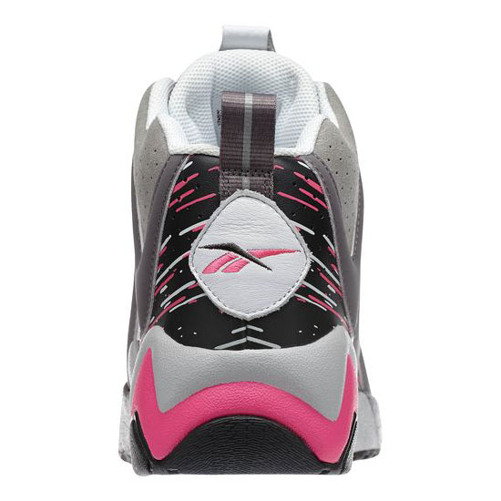 REEBOK MEN\'S CLASSICS KAMIKAZE II - BREAST CANCER AWARENESS Carbon / Shark / Solid Grey / Steel / White / Pink