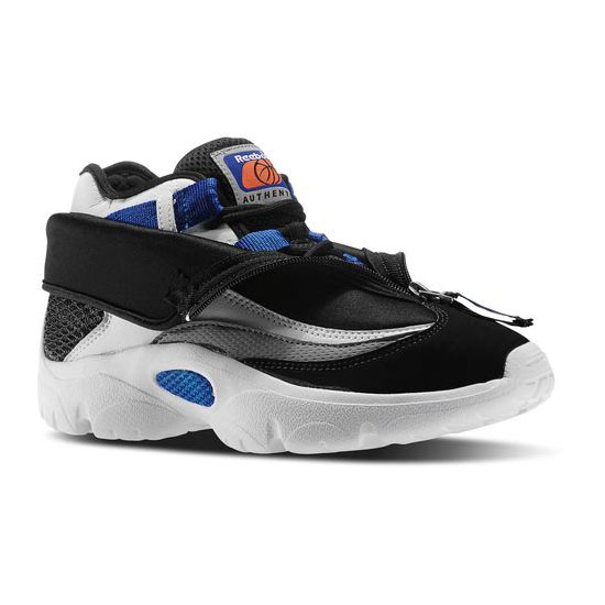 REEBOK MEN'S CLASSICS REEBOK SHROUD Black / White / Collegiate Royal / Silver Met