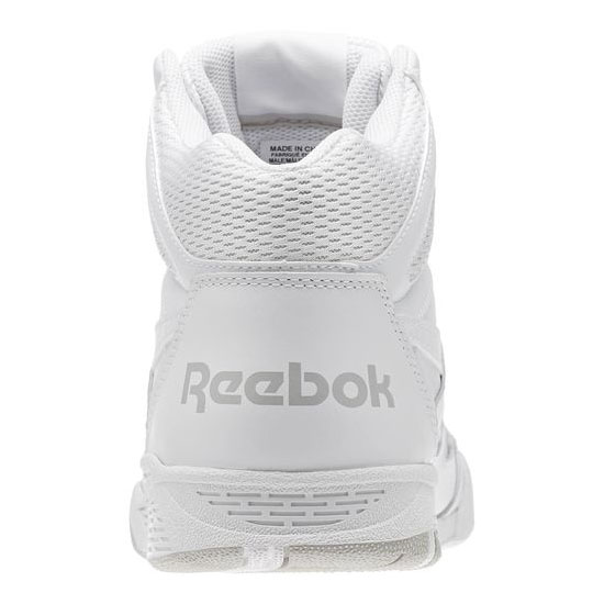 REEBOK MEN\'S CLASSICS REEBOK ROYAL BB4500 X-WIDE 4E White / Steel