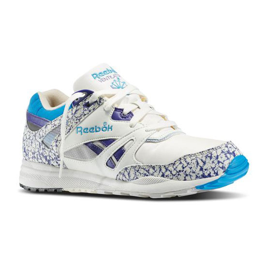 REEBOK MEN'S CLASSICS VENTILATOR VINTAGE Chalk / Snowy Grey / Team Purple / Energy Blue