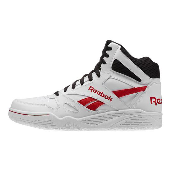 REEBOK MEN\'S CLASSICS REEBOK ROYAL BB4500 HI White / Black / Red Rush