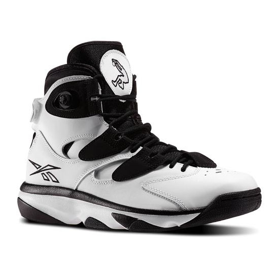 REEBOK MEN\'S CLASSICS SHAQ ATTAQ IV Black / White