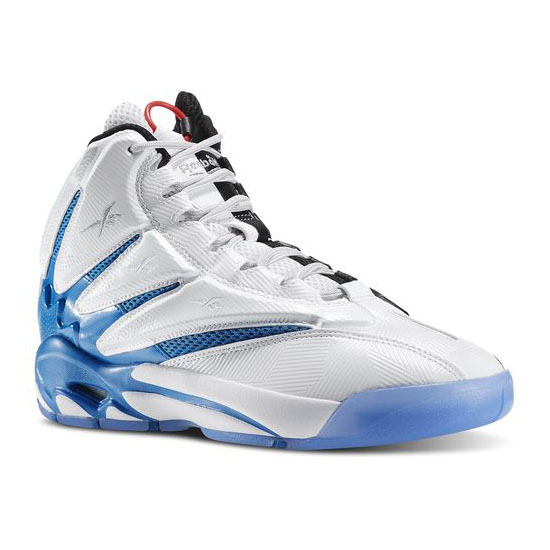 REEBOK MEN'S CLASSICS THE BLAST White / Black / Instinct Blue / Red Rush / Steel