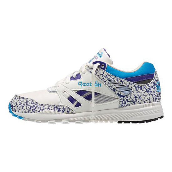 REEBOK MEN\'S CLASSICS VENTILATOR VINTAGE Chalk / Snowy Grey / Team Purple / Energy Blue