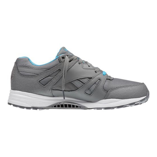 REEBOK MEN\'S CLASSICS VENTILATOR REFLECTIVE Foggy Grey / White / California Blue