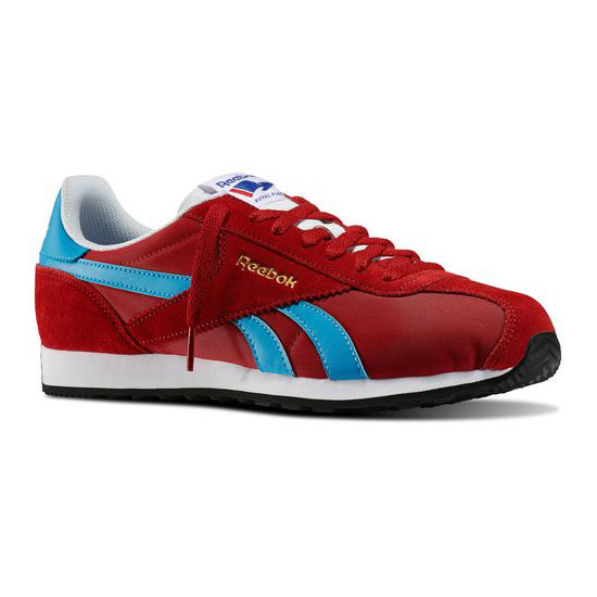 REEBOK MEN\'S CLASSICS REEBOK ROYAL ALPEREZ RUN Flash Red / California Blue / White / Black / Reebok Bras