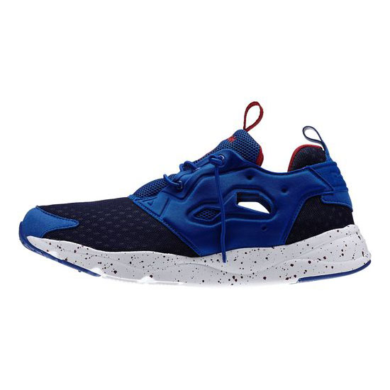 REEBOK MEN\'S CLASSICS FURYLITE  Collegiate Royal / White / Bing Cherry / Navy