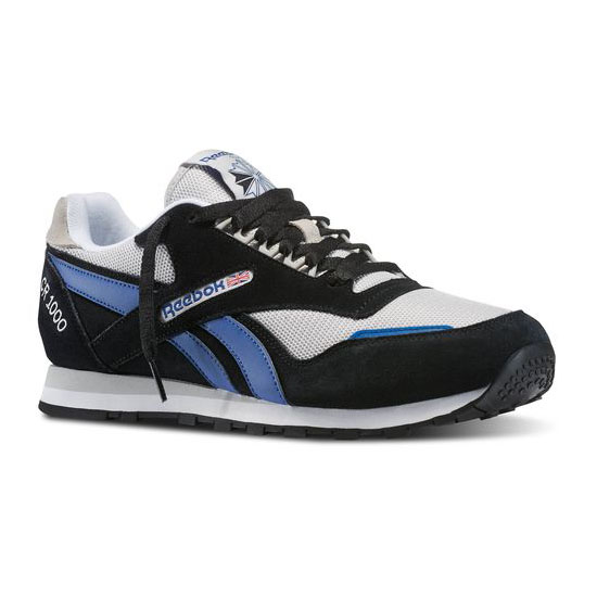 REEBOK MEN'S CLASSICS CR 1000 TXT Black / Steel / Team Dark Royal / White