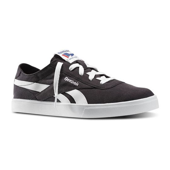 REEBOK MEN'S CLASSICS REEBOK ROYAL VULC Black / White