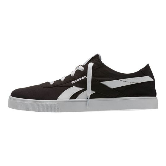 REEBOK MEN\'S CLASSICS REEBOK ROYAL VULC Black / White