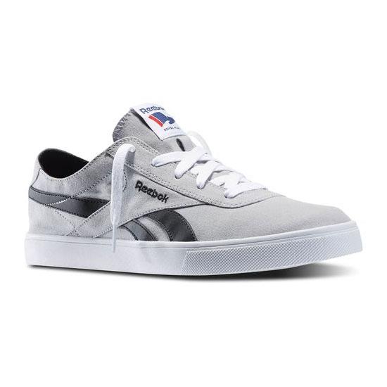 54b1abaae61 REEBOK MEN S CLASSICS REEBOK ROYAL VULC Flat Grey   White   Black