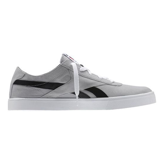 REEBOK MEN\'S CLASSICS REEBOK ROYAL VULC Flat Grey / White / Black