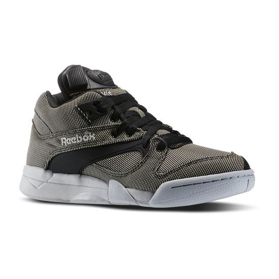 REEBOK CLASSICS COURT VICTORY PUMP Black / Steel