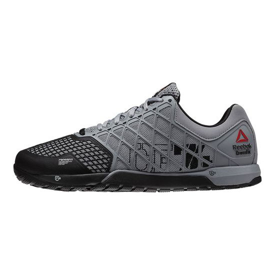 REEBOK MEN\'S CROSSFIT REEBOK CROSSFIT NANO 4.0  Flat Grey / Black / White