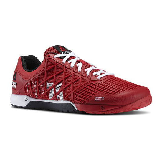 REEBOK MEN'S CROSSFIT REEBOK CROSSFIT NANO 4.0  Excellent Red / White / Black