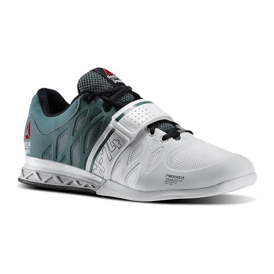 REEBOK MEN'S CROSSFIT REEBOK CROSSFIT LIFTER 2.0  Silvery Green / White / Black / Steel