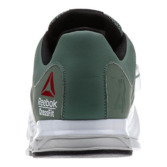 REEBOK MEN\'S CROSSFIT REEBOK CROSSFIT LIFTER 2.0  Silvery Green / White / Black / Steel