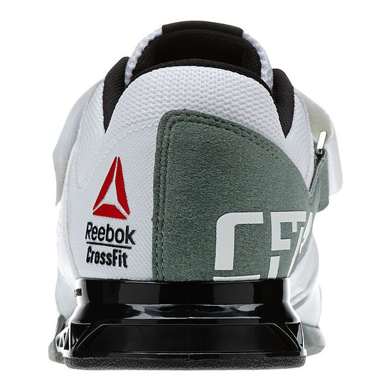 REEBOK MEN\'S CROSSFIT REEBOK CROSSFIT LIFTER PLUS 2.0 White / Black / Silvery Green