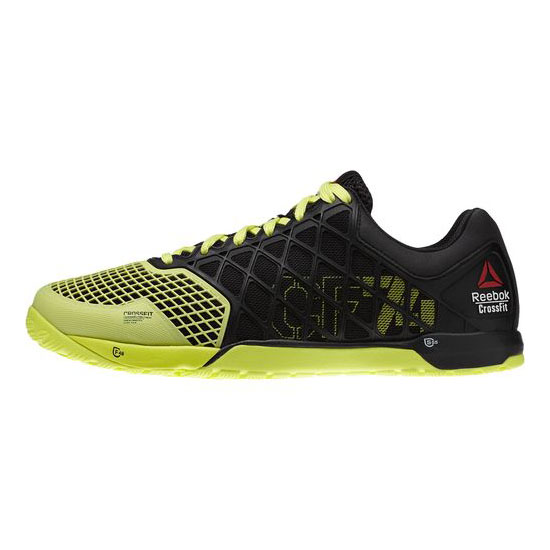REEBOK MEN\'S CROSSFIT REEBOK CROSSFIT NANO 4.0 Black / High Vis Green