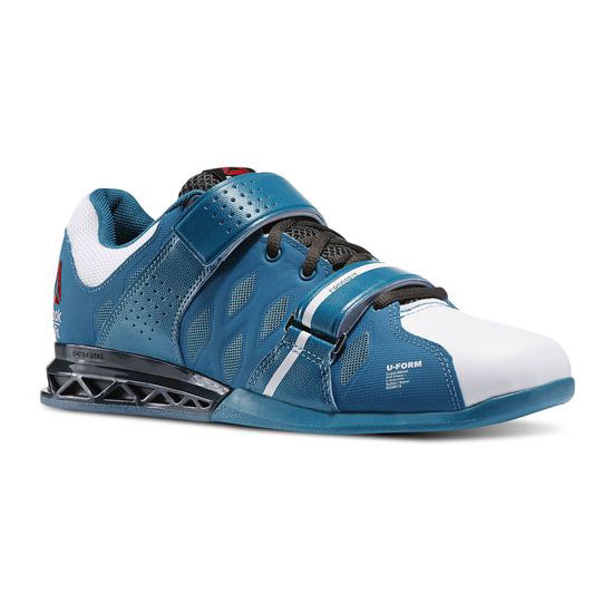 REEBOK MEN'S CROSSFIT REEBOK CROSSFIT LIFTER PLUS 2.0 English Emerald / White / Gravel