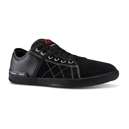 REEBOK MEN'S CROSSFIT REEBOK CROSSFIT LITE LO TR LEATHER Black / Steel