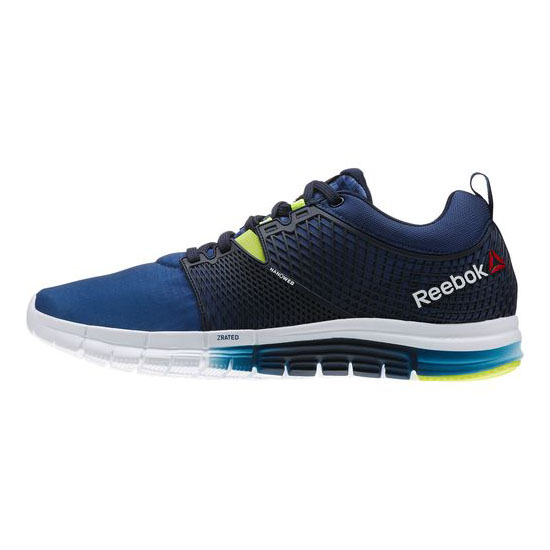 REEBOK WOMEN\'S RUNNING ALL TERRAIN SUPER Solar Yellow / Solar Green / Impact Blue / Red
