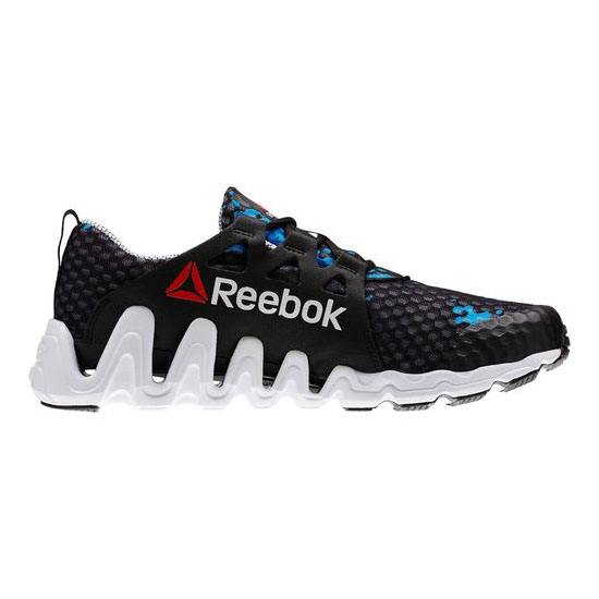 REEBOK WOMEN\'S RUNNING ZIGTECH BIG N FAST SO CAL Black / Energy Blue / White