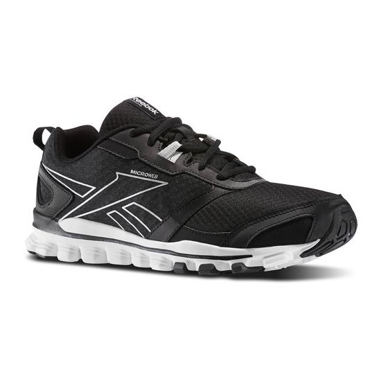 REEBOK WOMEN'S RUNNING HEXAFFECT RUN Black / Silver Met / White