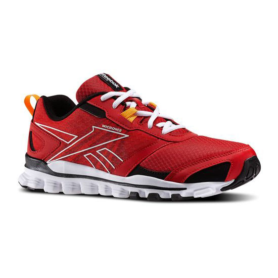 REEBOK WOMEN\'S RUNNING HEXAFFECT RUN  Red Rush / Sunset Orange / White / Black