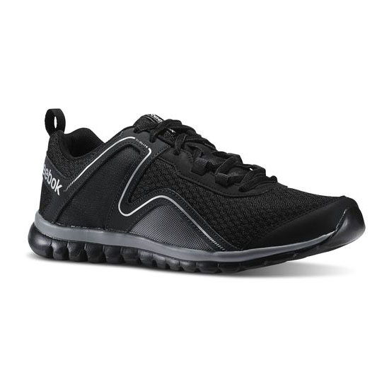 REEBOK WOMEN'S RUNNING SUBLITE ESCAPE 2.0 Black / Gravel / Matte Silver / Flat Grey