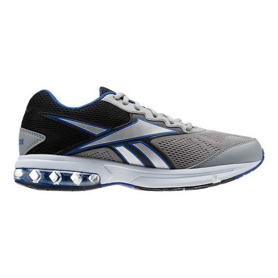 REEBOK WOMEN\'S RUNNING FUSERIDE RUN Flat Grey / Black / Collegiate Royal / Pure Silver