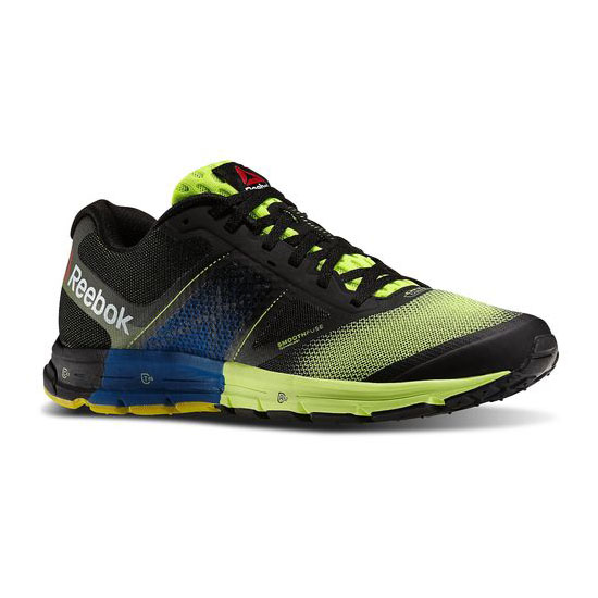 REEBOK WOMEN'S RUNNING REEBOK ONE CUSHION 2.0 Solar Yellow / Black / Impact Blue / White