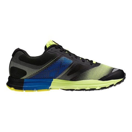 REEBOK WOMEN\'S RUNNING REEBOK ONE CUSHION 2.0 Solar Yellow / Black / Impact Blue / White