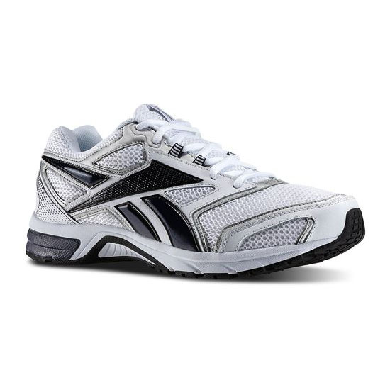 REEBOK WOMEN'S RUNNING SOUTHRANGE RUN L X WIDE White / Athletic Navy / Pure Silver / Black