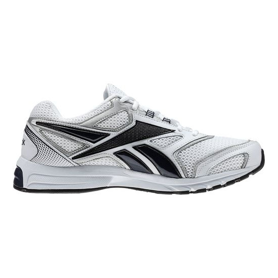 REEBOK WOMEN\'S RUNNING SOUTHRANGE RUN L X WIDE White / Athletic Navy / Pure Silver / Black