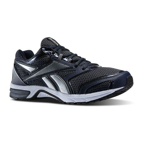 REEBOK WOMEN'S RUNNING SOUTHRANGE RUN L X WIDE  Reebok Navy / Noble Grey Met / Pure Silver / White
