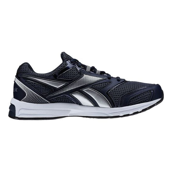 REEBOK WOMEN\'S RUNNING SOUTHRANGE RUN L X WIDE  Reebok Navy / Noble Grey Met / Pure Silver / White