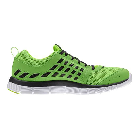 REEBOK WOMEN\'S RUNNING REEBOK Z DUAL RIDE Solar Green / Gravel / White
