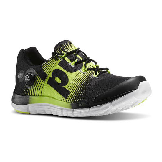 REEBOK WOMEN'S RUNNING REEBOK ZPUMP FUSION Black / Solar Yellow / White