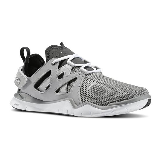 REEBOK MEN'S TRAINING REEBOK ZCUT TR Steel / Flat Grey / Gravel / White