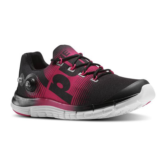 REEBOK WOMEN\'S RUNNING REEBOK ZPUMP FUSION Black / Blazing Pink / White