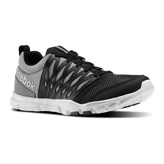 REEBOK MEN'S TRAINING YOURFLEX TRAIN 5.0 Black / Flat Grey / White