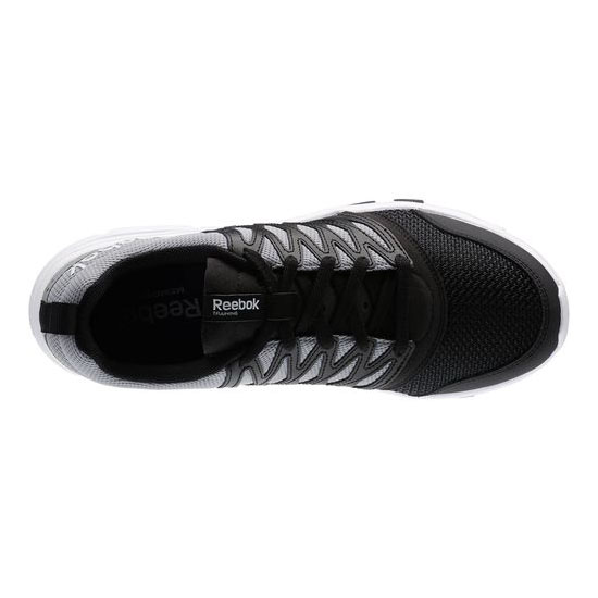 REEBOK MEN\'S TRAINING YOURFLEX TRAIN 5.0 Black / Flat Grey / White