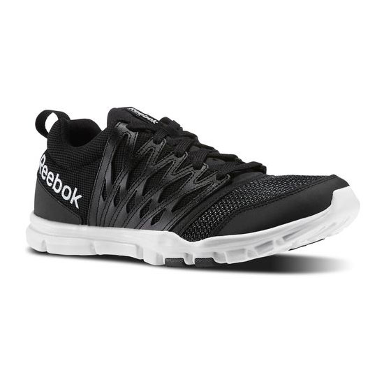 REEBOK MEN'S TRAINING YOURFLEX TRAIN 5.0 Black / White