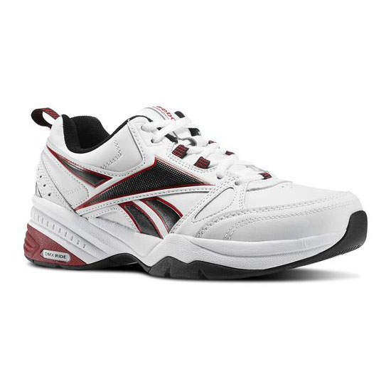 REEBOK MEN'S TRAINING REEBOK ROYAL TRAINER 4E White / Black / Excellent Red