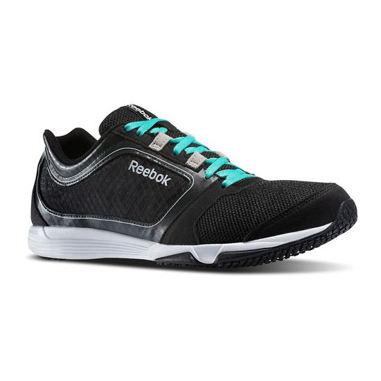 REEBOK MEN'S TRAINING SUBLITE SPRINT TR Black / Timeless Teal / Gravel / Weathered White