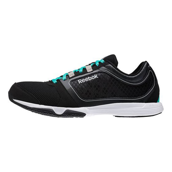 REEBOK MEN\'S TRAINING SUBLITE SPRINT TR Black / Timeless Teal / Gravel / Weathered White