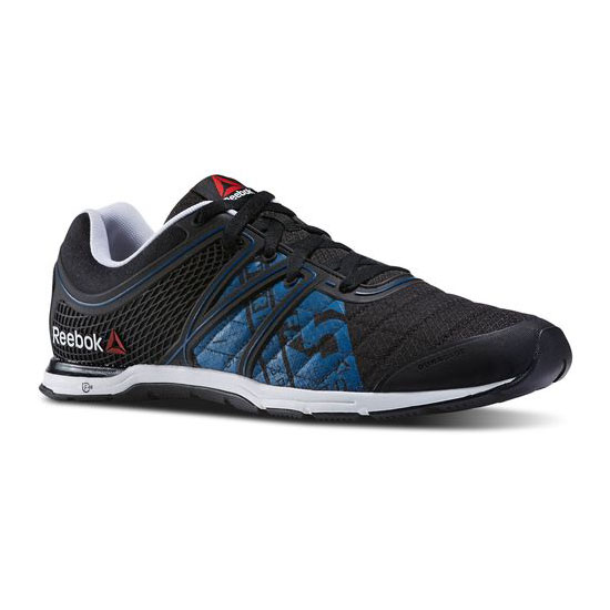 REEBOK MEN\'S TRAINING REEBOK ONE SPEED FREESE TR Black / Impact Blue / White